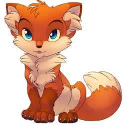 cute foxes clipart