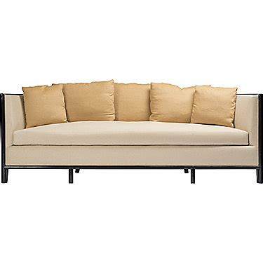 barbara barry sofa mcguire furniture barbara barry lunette sofa with caned