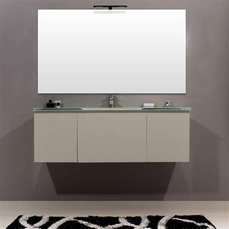 www bagno italia it mobile da bagno sospeso con lavabo in cristallo per arredo