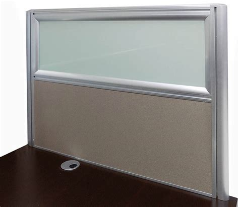 desk mounted privacy panel 24 quot h desk mount privacy panel series 24 quot w x 24 quot h panel