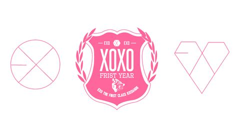 Exo Wallpaper Pink | exo xoxo pink web by r4cch on deviantart