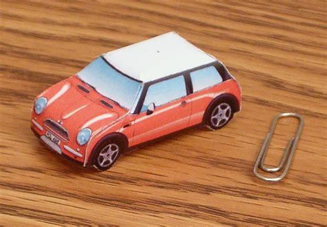 Mini Cooper Papercraft - mini cooper papercraft jpg