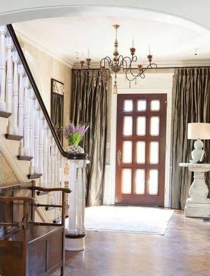 Curtains For Entrance Door 25 Best Images About Difficult Windows To Cover On Pinterest Doors Glass Entry Doors
