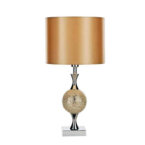 els4235 elsa table lamp gold mosaic