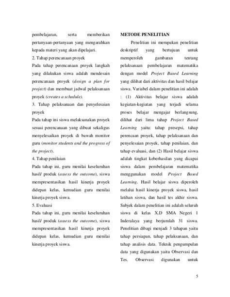 cara membuat jurnal matematika jurnal matematika dengan pendekatan savi pdf