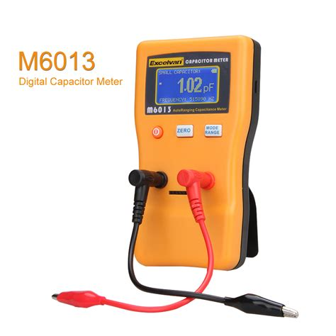 capacitor test digital meter excelvan m6013 digital auto ranging capacitance meter tester capacitor tester us ebay