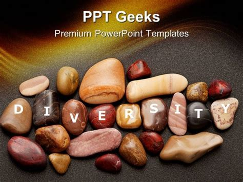 Diversity Powerpoint Templates Free by Diversity Stones Nature Powerpoint Templates And