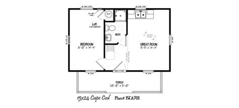 12 x 20 cabin floor plans very psbl but 12 x24 15 x 24 with 5 x 20 porch