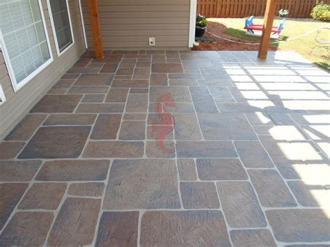 Concrete Patio Tiles   Home Design Ideas and Pictures
