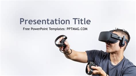 Powerpoint Templates For Virtual Reality | free virtual reality powerpoint template pptmag