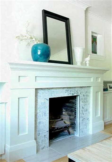 Brown And Blue Bathroom Ideas by Ask Maria Should My Fireplace Surround Be Subway Maria