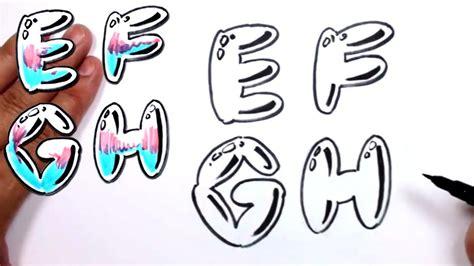 graffiti letters alphabet bubble letters alphabet