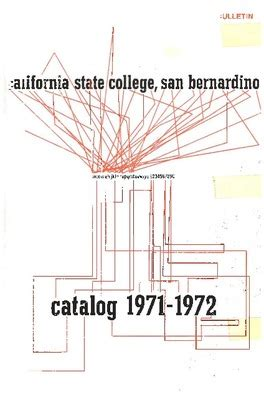 Csusb Academic Calendar Bulletin Of Courses Course Catalog Archives