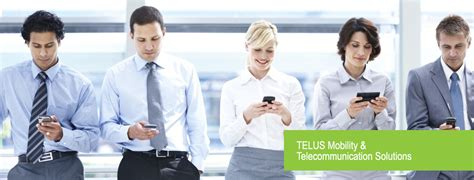wireless city telus mobility telecommunication solutions