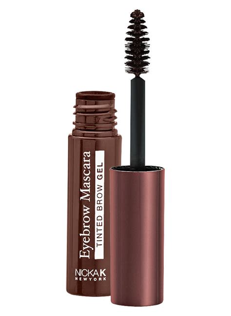 Nicka K Eyebrow Gel Mascara eyebrow mascara tinted brow gel amerimark