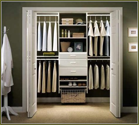 Easy Track Closet Organizers by Menards Closet Organizer System Home Design Ideas