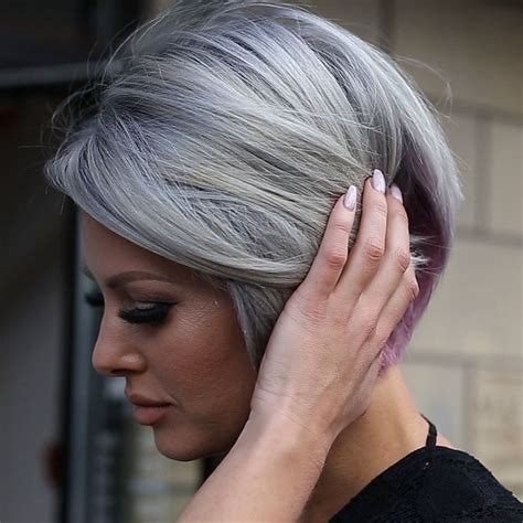 gray hair color shades best 25 dying your hair grey ideas only on