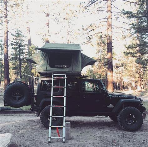 jeep cing trailer jeep jk 2 door roof top tent house roof