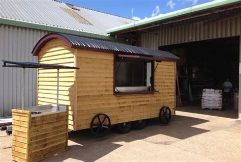 mobile hu shepherd hut mobile catering conversion for gourmet beef