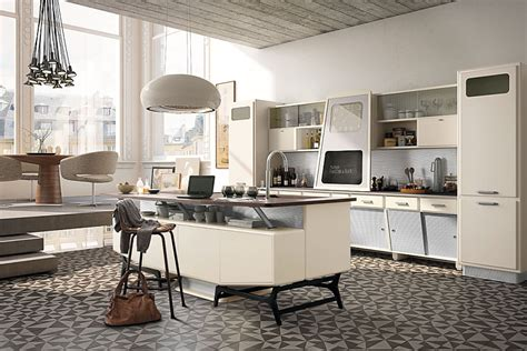 50s Style Kitchen by Vintage Kitchen Offers A Refreshing Modern Take On Fifties