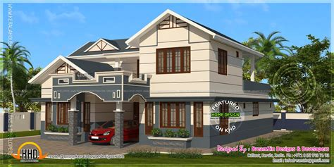339 square yards house elevation home kerala plans