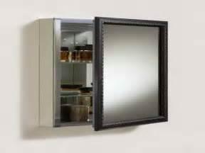 Modern recessed medicine cabinets for bathroom