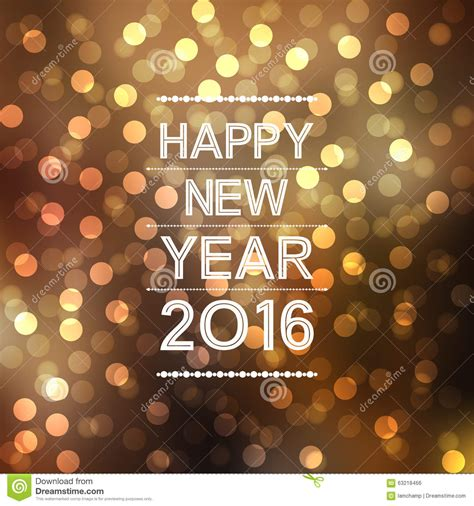 new year 2016 oranges happy new year 2016 in bokeh and lens flare pattern on