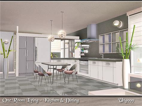 one room living ung999 s one room living kitchen dining