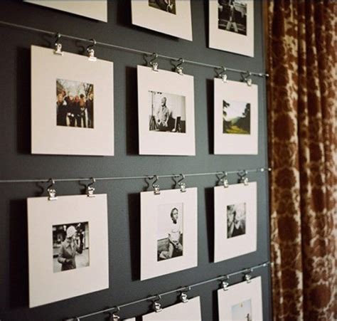 display gallery 25 exles of how to display photos on your walls