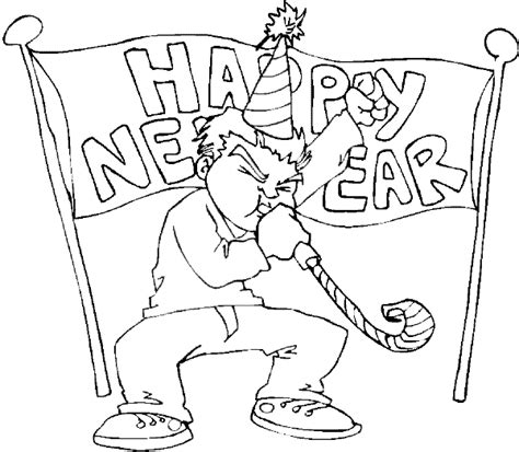 new year drawing new year s drawings to color child coloring