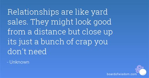 Relationships Are Like Garage Sales by Relationships Are Like Yard Sales They Might Look