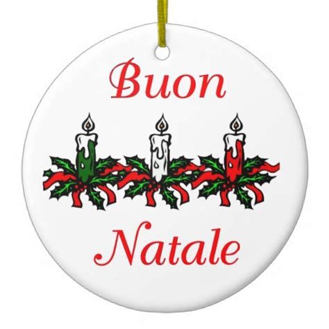 buon natale italian christmas ornaments buon natale