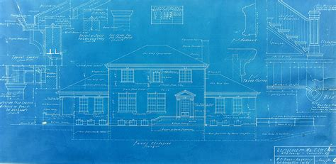 blueprint for house 1244 sixth the blueprints