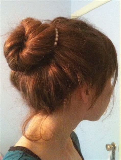 quick hairstyles buns easy bun hairstyles for long hair