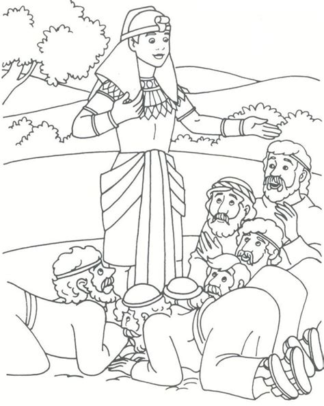 Coloring Page Joseph joseph in coloring pages coloring home