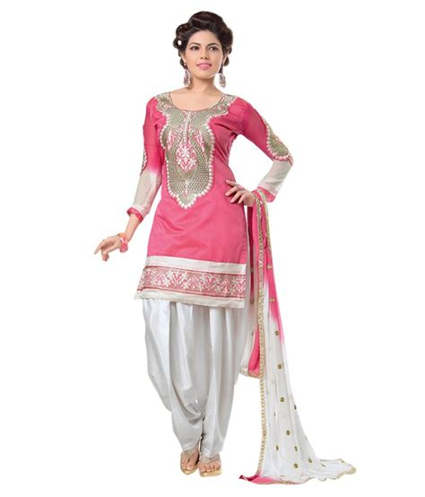17 best images about indian ethnic clothes online on paridhan indian ethnic wear pink chanderi straight semi