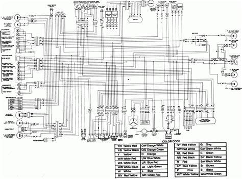 1986 kawasaki kz650 wiring diagram kawasaki motorcycle