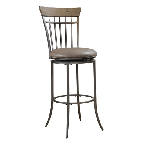 furniture square brown leather swivel bar stools with curvy wicker back on chrome buffer furniture square brown leather swivel bar stools with