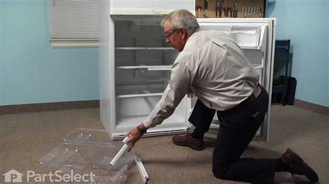 whirlpool gold refrigerator crisper drawer whirlpool refrigerator crisper drawer rail replacement