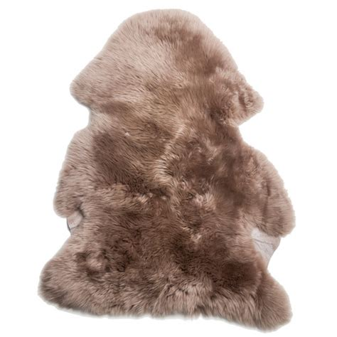 sheepskin rug brown templeandwebster soft brown sheepskin rug compare club