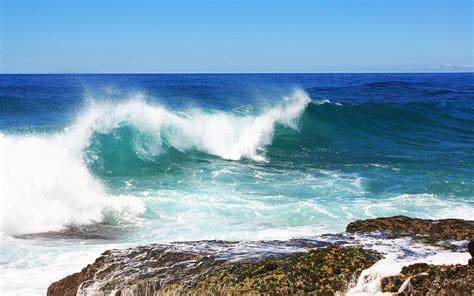 tapete meer sea wave wallpapers hd wallpapers id 9397
