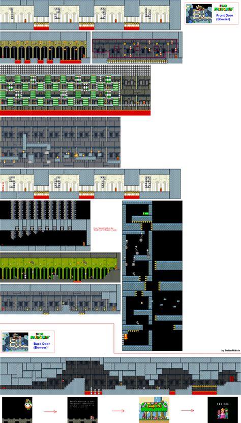 Super Mario World Levels Game Maps Front Door Mario World