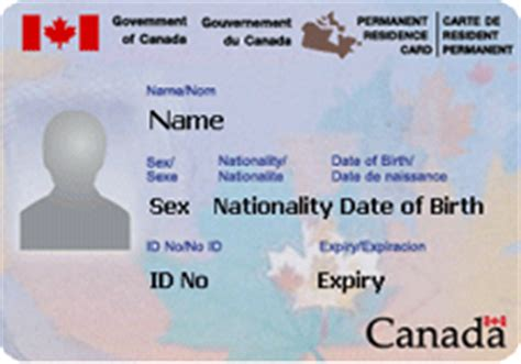 canadian citizenship card template renewing your permanent resident card outside of canada