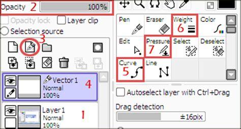 paint tool sai new layer shortcut lineart tutorial using sai paint tool