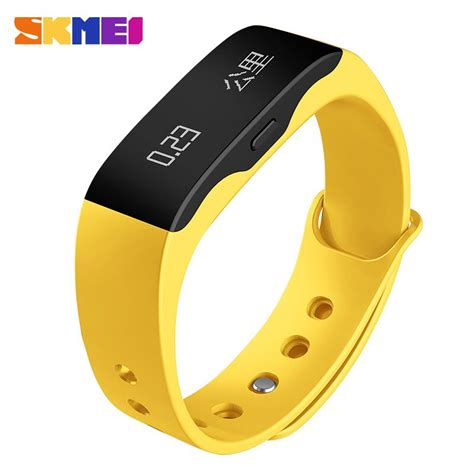 Skmei Jam Tangan Oled Gelang Smartwatch Fitness Notification Black skmei jam tangan oled gelang smartwatch fitness