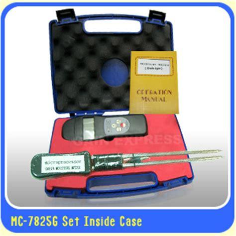 Alat Ukur Kadar Air Untuk 36 Bijian Seri Mc7825g Bergaransi Terlaris distributor alat ukur kadar air sedia berbagai macam