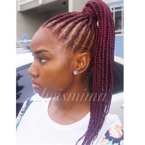 best braids for a weave nice natural hair ponytail styles styles the haircut