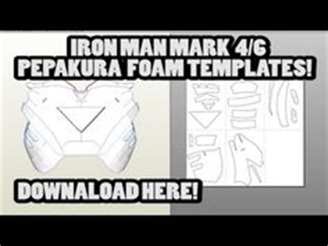 iron foam templates 1000 images about pepakura on foam costumes