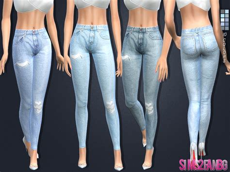 sims 4 jeans sims2fanbg s 108 skinny jeans