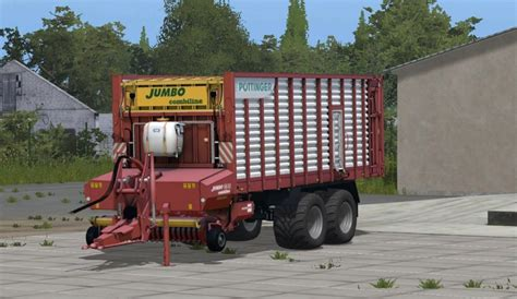lade faro fs17 poettinger jumbo 6610 combiline farming simulator